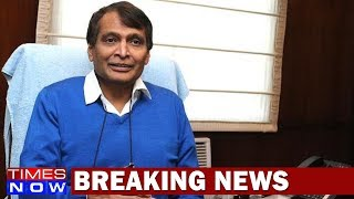 Has Union Railway Minister Suresh Prabhu Resigned? - TIMESNOWONLINE