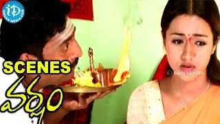 Varsham Movie Scenes - Prakash Raj Tries To Impress Trisha Away From Prabhas Love - IDREAMMOVIES