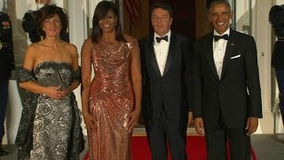 Obamas host Italian PM at their final state dinner - CNN