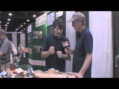 Rob Cosman Hand Tool Review AWFS Woodworking Show Interview With Billy Carmen