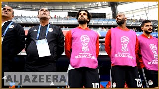 🇪🇬 FIFA World Cup 2018: Egypt miss Salah on the field | AL Jazeera English - ALJAZEERAENGLISH