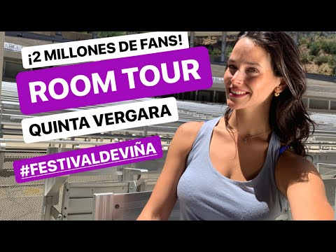 ¡ ROOM TOUR QUINTA VERGARA ! 2 MILLONES DE FANS FESTIVAL DE VIÑA DEL MAR