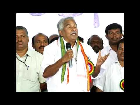 Janasamparka Paripadi 2013 Wayanad - Oommen Chandy's speech