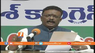 Congress Leader Mallu Ravi Comments On TRS Govt Ruling In Telangana | iNews - INEWS