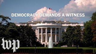Democracy Demands a Witness | The Washington Post - WASHINGTONPOST