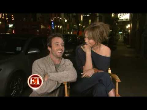 Jennifer Lopez & Alex O'Loughlin Interview on the set of