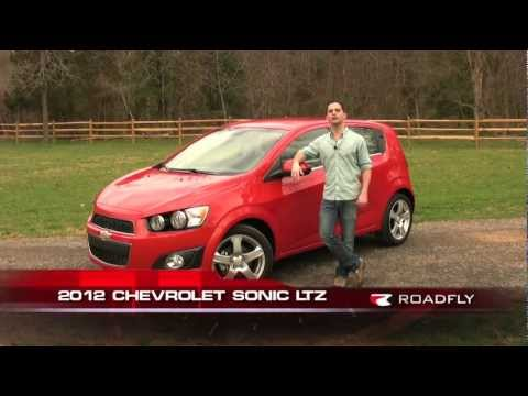 Chevrolet Sonic LTZ 2012 Test Drive & Car Review with Ross Rapoport by RoadflyTV