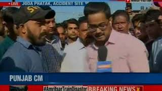 Amritsar train accident: 70 people sliced through; Navjot Kaur Sidhu was there, says Locals - NEWSXLIVE