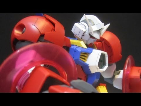 MG Age-1 Titus (Part 2: Plates) Gundam Age gunpla 1/100 model review
