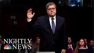 Barr Promises To Protect Mueller Investigation During Senate Confirmation Hearing | NBC Nightly News - NBCNEWS
