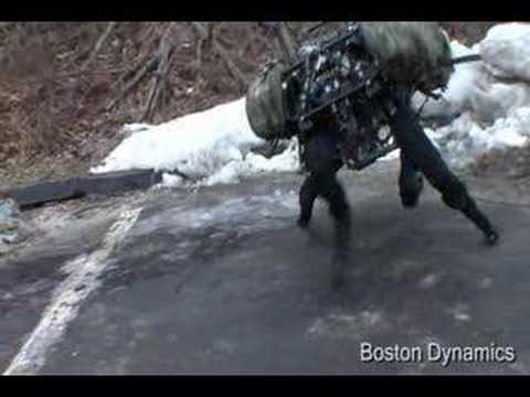 BIGDOG – Самый удивительный военный робот