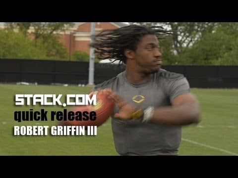 Robert Griffin III Quick Release Passing Drill