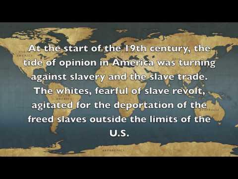 African Slave Trade Ghana & Liberia