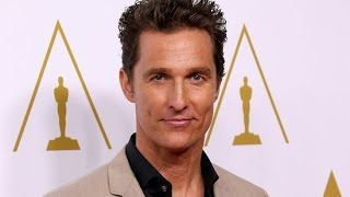 "Matthew McConaughey May Get the ""E"" in EGOT at Tonight's Emmys - POPSUGARTV"
