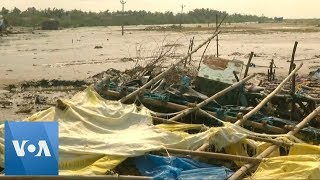 Cyclone 'Gaja' Kills 11 People Upon Landfall in South India - VOAVIDEO