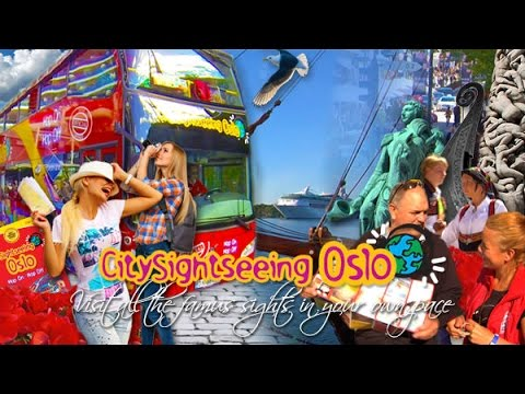 Oslo City - Norway - Open Top Sightseeing Tour 2014
