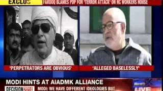 Farooq makes shocking allegation on Mehbooba's party - NEWSXLIVE
