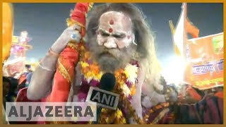 🇮🇳 India's ruling party BJP capitalises on Kumbh Mela ahead of polls l Al Jazeera English - ALJAZEERAENGLISH