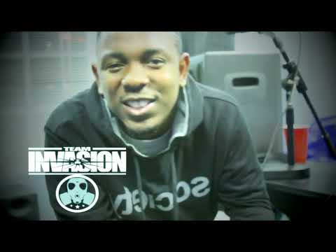 "KENDRICK LAMAR ""ONDASPOT"" FREESTYLE  LIVE On INVASION RADIO"