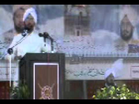 Sultan Ahmed ali Speech in Jauharabad part8