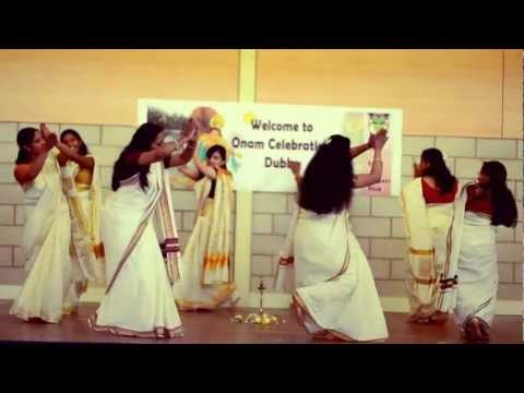 Thiruvathira - Kerala dance by Malayalees in Dubbo NSW Australia HD