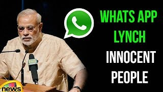 Whats App Lynch Innocent people, Government to take Action Against Fake messages | Mango News - MANGONEWS
