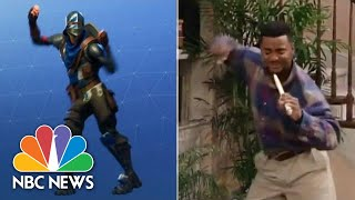Dance Debate: Compare 'Carlton' Dance To 'Fortnite' Dance | NBC News - NBCNEWS