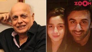 Alia Bhatt reacts on Mahesh Bhatt's comment on her relationship with Ranbir Kapoor - ZOOMDEKHO