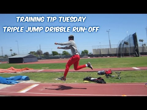 Training Tip Tuesday - Triple Jump Dribble Run-off Drill