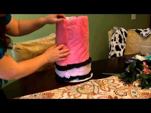 Как из памперсов сделать торт своими руками