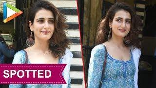Fatima Sana Shaikh Spotted at Balaji Telefilms Andheri - HUNGAMA