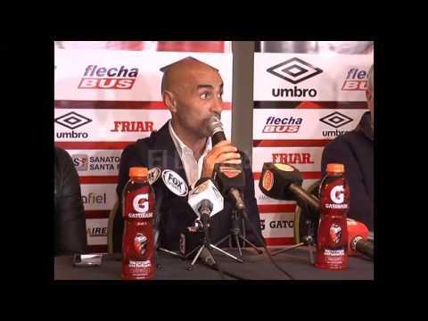 Presentaron a el nuevo entrenador de Colón