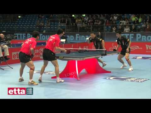 Men's Doubles Final - Ma Lin & Zhang Jike CHN v Ma Long & Wang Hao CHN - ITTF Pro Tour Grand Final