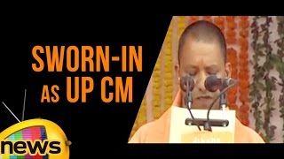 Yogi Adityanath Sworn-in As UP CM | PM Modi and Amit Shah At Swearing In Ceremony | Mango News - MANGONEWS