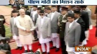 Nepal readies to welcome PM Modi - INDIATV