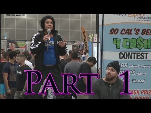 Dana Linn Bailey Q & A Part 1 at 2014 LA Fit Expo
