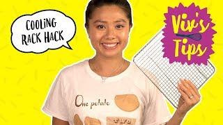 Cooling Rack Cubing Hack | VIV'S TIPS - FOODNETWORKTV