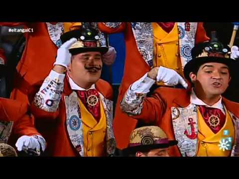 Sesión de Cuartos de final, la agrupación La vuelta a Cádiz en 80 mundos actúa hoy en la modalidad de Coros.