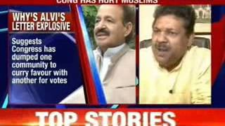 'Congress has hurt Muslims', says Rashid Alvi - NEWSXLIVE