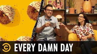 Get Ready for the Donug & Harsh Words for Introverts - Every Damn Day - COMEDYCENTRAL