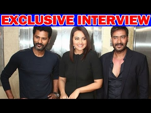 "Ajay Devgn & Sonakshi Sinha""s EXCLUSIVE Interview For Action Jackson cloned"