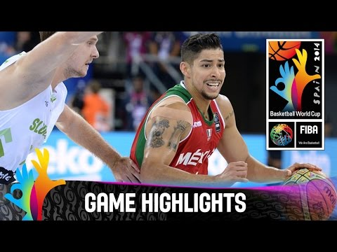 Slovenia v Mexico - Game Highlights - Group D - 2014 FIBA Basketball World Cup