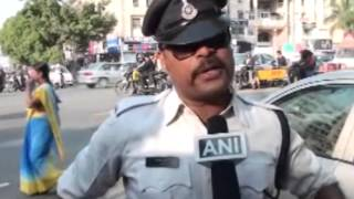 23 Jan, 2015 - Dancing cop becomes a rock star like figure among riders in central India - ANIINDIAFILE