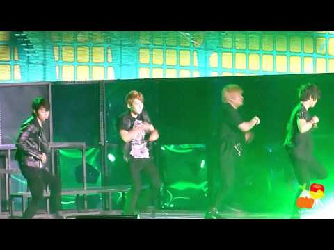 [Fancam] 110129 Super Junior SS3 Singapore - Shake It Up