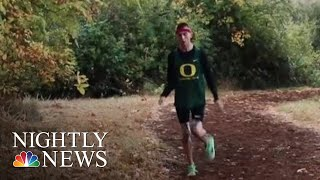 College Athlete With Cerebral Palsy Surprised With Nike Contract | NBC Nightly News - NBCNEWS