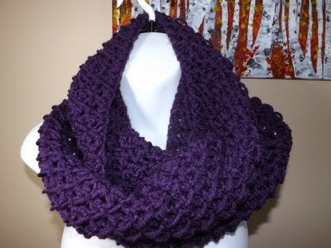 Crochet Bufanda Circular o Tubular bien facil