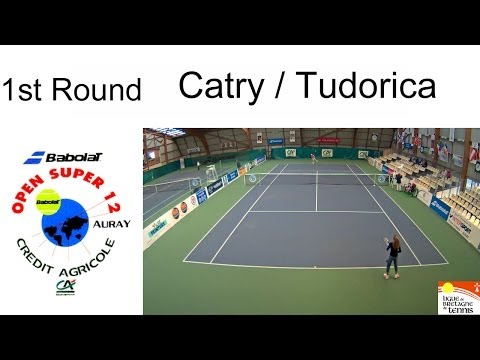 Victory of Catry (FRA) over Tudorica (CAN) - Open Super 12 Auray - Boys Single 1st Round