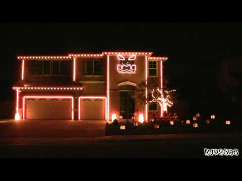 Halloween Light Show 2011 - This Is Halloween