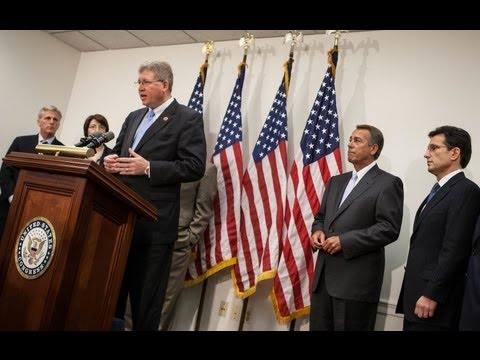 5/21/13 Republican Leadership Press Conference