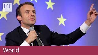 Macron calls for EU to be tougher on trade - FINANCIALTIMESVIDEOS